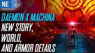 Recapping Daemon X Machina new story, world, and armor details