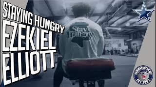 Ezekiel Elliott Staying Hungry During Dallas Cowboys Offseason | Zeke Workout and Interview