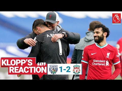 Klopp's Reaction: Jürgen on Alisson's goal, Jota's injury & more   West Brom vs Liverpool