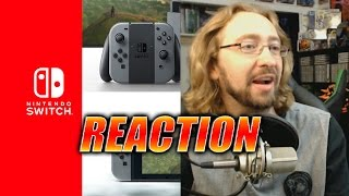 MAX REACTS: Nintendo Switch Reveal Trailer
