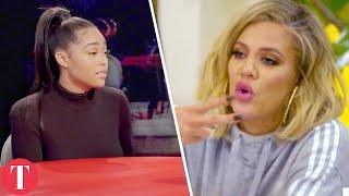 Khloe Kardashian Attacks Tristan Thompson After Jordyn Woods Red Table Talk Reveal