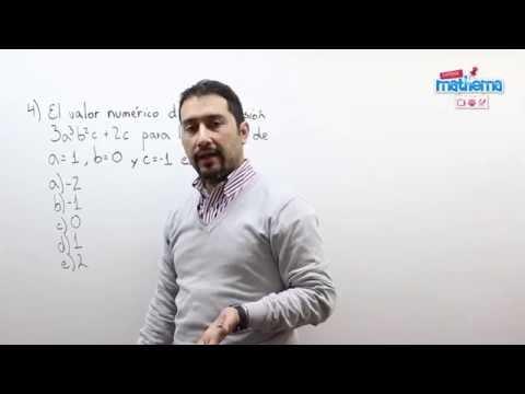 Prueba de algebra 7