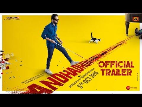 AndhaDhun - Official Trailer - Tabu - Ayushmann Khurrana - Radhika Apte