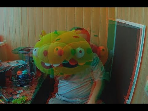 3D VIDEO! Festive Positive! Anaglyph