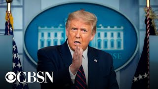 Watch live: Trump holds White House news conference