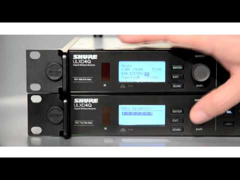 Vidéo Shure ULX-D Digital Wireless System: Bodypack Frequency Diversity