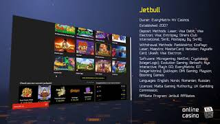 All the tricks of playing in the casino Jetbull in the review by OnlineCasinoBox.net