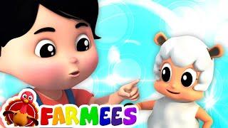 Mejillas cachetonas barbilla hoyuelo   Canciones infantiles   Farmees Español   Dibujos animados