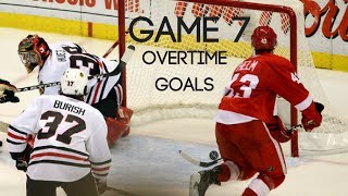 Best Game 7 Playoff Overtime Goals in NHL History