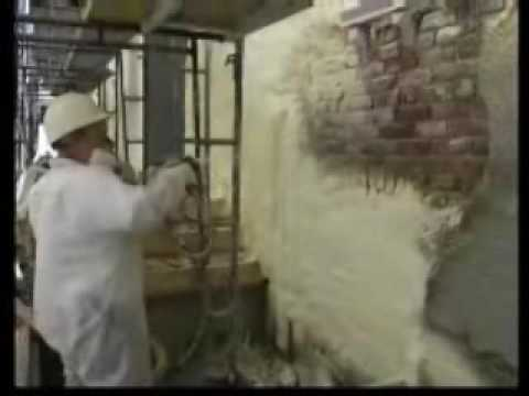 Exterior Spray Foam Insulation Amp Stucco Youtube