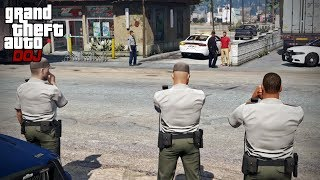 GTA 5 Roleplay - DOJ 331 - Assisting The Police (Civilian)