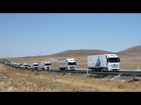 Hilfstransport 'Convoy of Hope - Wings on Wheels' | 2013