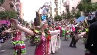 Los Colegas en el desfile de 2017