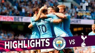 Manchester City vs. Tottenham: 1-0 Goals & Highlights | Premier League | Telemundo Deportes