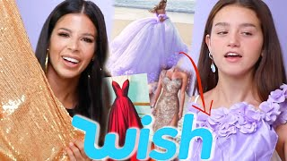 WE TRIED ON EXTRA FANCY WISH DRESSES & GOWNS