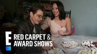 Cheryl Burke & Matthew Lawrence Taste Wedding Cake Flavors | E! Red Carpet & Award Shows