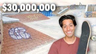 Inside a MASSIVE $30 MILLION Dollar Skatepark