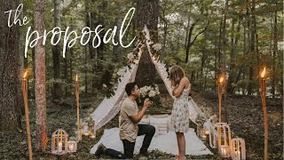 THE PROPOSAL! I'm engaged! // cutest proposal ever