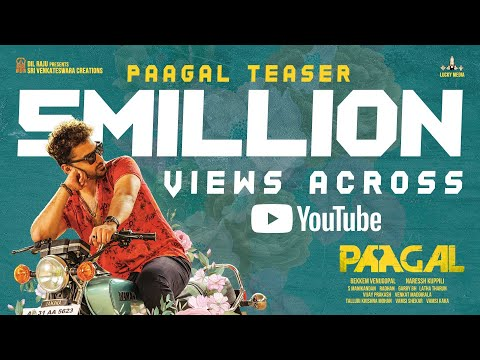 Paagal Official Teaser