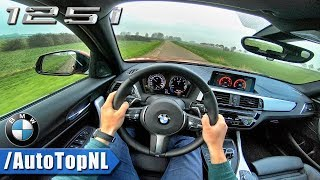 2018 BMW 1 Series 125i M Sport Shadow Line POV Test Drive by AutoTopNL