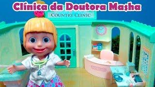 MASHA MÉDICA VETERINÁRIA - COMPLETO - MASHA E O URSO - MASHA AND THE BEAR - CLINICA DA DOUTORA MASHA
