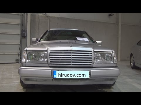 Mercedes-Benz E Class W124 Tuned Exterior and Interior in 3D
