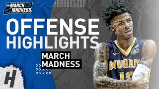 Ja Morant NASTY Offense Highlights Montage from 2019 NCAA March Madness!