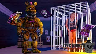 Minecraft FIVE NIGHTS AT FREDDY'S - JO JO SIWA FROM DANCE MOMS IS TRAPPED IN THE FNAF HOTEL