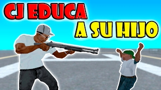 GTA San Andreas Loquendo - CJ Educa a su Hijo