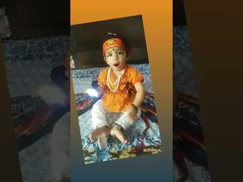 Baby Fun In Kanha Dress