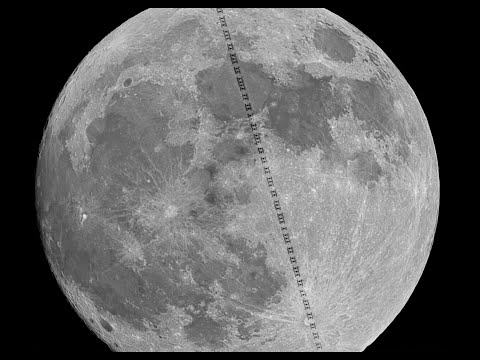 International Space Station shares pics of full Moon taken from space