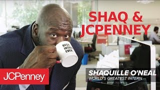 Shaquille O'Neal - BEST Big & Tall Intern EVER! | JCPenney