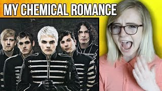 Reacting to My Chemical Romance - G NOTE WARNING