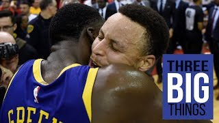 3 Big Things: Warriors show toughness while Rockets wilt under pressure