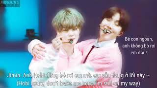 [HopeMin's World][MP3 CUT] Bé con mè nheo xin anh đừng bỏ rơi bé - Hobi hyung don't leave Jiminie