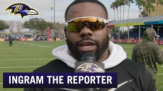 Mark Ingram Reports Live From the Pro Bowl   Baltimore Ravens