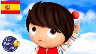 Canciones Infantiles   Cinco Amigos Saltando en la Cama   Dibujos Animados   Little Baby Bum