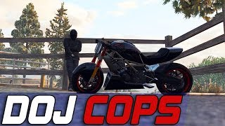 Dept. of Justice Cops #625 - Motorcycle Mad Man