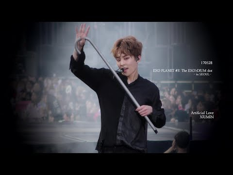 [4K] 170528 EXO'rDIUM dot Artificial Love XIUMIN 시우민 focus.