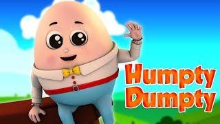 Humpty Dumpty Sat On A Wall   Nursery Rhymes For Kids