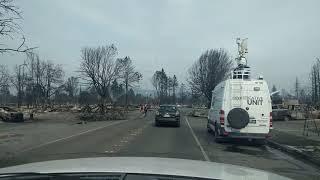 Heading into San Miguel/Coffey Park Destruction