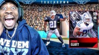 97 OVERALL EZEKIEL ELLIOTT IS EATING! Madden Mobile 17 Gameplay Ep. 21