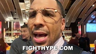 ANDRE WARD REACTS TO TYSON FURY STOPPING DEONTAY WILDER; EXPLAINS WHAT WENT WRONG FOR WILDER