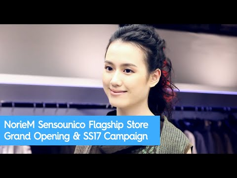 NorieM Sensounico Flagship Store Grand Opening at Fashion Walk & SS17 Campaign | wcity.com
