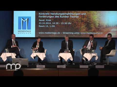 Diskussion: Zukunftsfähige Rahmen-Bedingungen der Medienbranche