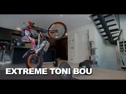 Extreme Trial training at home with Toni Bou
