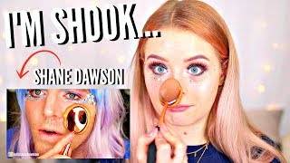 I TRIED FOLLOWING A SHANE DAWSON MAKEUP TUTORIAL.. YES THAT'S RIGHT, SHANE DAWSON