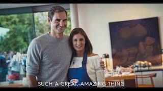 Dinner with Roger Federer: when a fan cooks for her lifelong hero