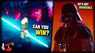 Can you defeat DARTH VADER in the COMBAT ARENA in Jedi Fallen Order?
