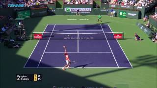 ATP R3 Hot Shot Kyrgios